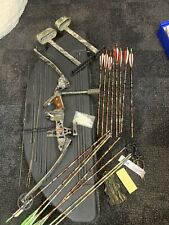 PSE Thunder Bolt Right Hand Bow Package. Arrow Quiver Case, 29in 70lbs Release.