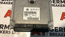 AUDI A2 2000 2005 1.4 AUA ENGINE CONTROL UNIT ECU 036 906 034Q 036906034Q