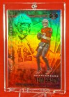 Illusions NFL Tom Brady Tampa Bay Buccaneers Sweet Hot Rainbow Refractor Mint