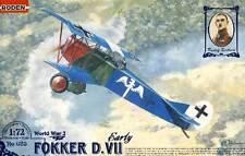 TALA DE ÁRBOLES Fokker D.VII early temprano Versión Udet 1:72 RARO