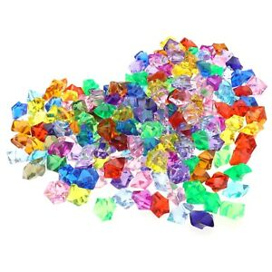 500G Pirate Gems Diamonds Assorted Colors Kit Party Arts Crafts Vase Fillers