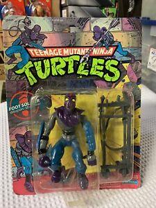TMNT Foot Soldier Teenage Mutant Ninja Turtles No. 5008 Action Figure 1990 MISBP
