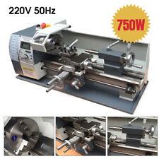 """Upgrade 750W Mini Metal Lathe Machine Metric / inch Gear 220V 8"""" X 16"""" Metalwork"""