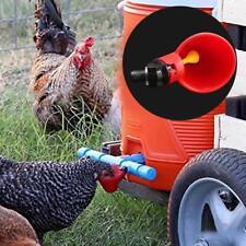 4PCS Chicken Drinking Cups Quail Water Bowls Bird Plastic Animal Cage Feeder