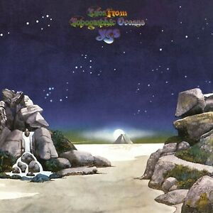 Yes Tales from Topographic Oceans 1974 Album Cover Canvas Art Poster Print Songs