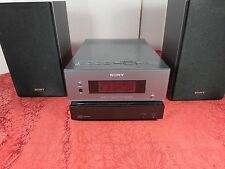 SONY CMT-BX1 MICRO STEREO RECEIVER CD/MP3/Aux Player BassBoost Nice Sound Tested