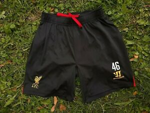 Liverpool Football Shorts Size M Soccer England Warrior Player Issue # 46