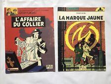 BLAKE ET MORTIMER LA MARQUE JAUNE & AFFAIRE DU COLLIER JACOBS BD TELE MOUSTIQUE