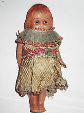 "Antique 6"" celluloid doll Cute!"