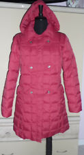 Tommy Hilfiger,Red~M~Long Parka Jacket Heavyweight Coat Hooded Outerwear Hooded