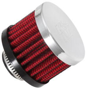"62-1340 K&N Vent Air Filter 5/8""ID VENT,2""D,1.5""H,CLAMP-ON (KN Universal Air Fil"