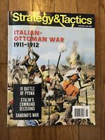 Strategy & Tactics Issue #325 w/Italian Ottoman War 1911-1912 Magazine