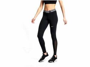 Nike women's pro training leggings girls 365 tight black