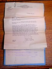 1929 Lawyer Letter & Pennsylvania Court Accountant For Weak Minded Woman Ludlum
