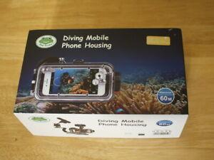 Sea frog 60M Waterproof Diving Mobile Phone Housing Case iphone 7/8
