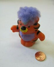 Fisher Price Little People TOUCH & FEEL CIRCUS TIGER CAT Zoo Jungle Purple Hair