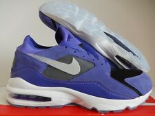 "NIKE AIR MAX 93 ID ""AIR MAX DAY 3.26"" PURPLE-BLACK-GREY SZ 12 [AR5336-993]"