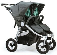 Bumbleride Indie Twin All Terrain Twin Baby Double Stroller Dawn Grey Mint 2018