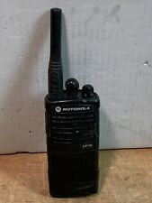 MOTOROLA CP110 450-470 MHz UHF 2W 2CH Two Way Radio & Antenna H96RCC9AA2AA