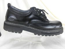 Skechers Mens Shoes Size 11 Black Leather 60997 Hiking Lace Up Oxfords casual