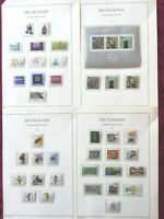 WEST GERMANY(BRD) 1984: 37 stamps+ 1 minisheet, all MNH** VF, 4 album pages