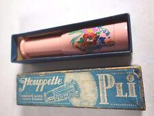 Antique French Houppette Pli Retractable Powder Puff Molinard Brevette S.G.D.G
