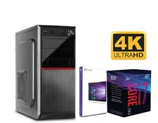 PC Büro COMPUTER I7 8700 6x 4,60GHz 16GB DDR4 500GB SSD 2TB HDD & Windows 10 01