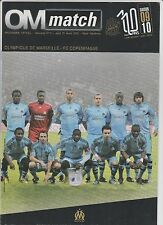 Orig.PRG  Europa League  2009/10  OLYMPIQUE MARSEILLE - FC KOPENHAGEN  !  SELTEN