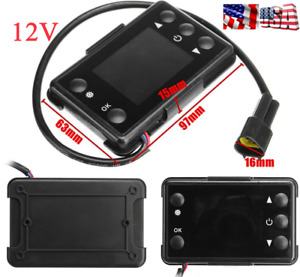 12V LCD Monitor Car Truck Air Diesel Heater Parking Heater Remote Control Switch