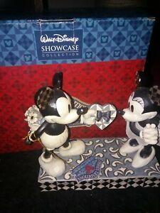 Disney Tradition black & white Mickey & Minnie Disney figure 6 inches