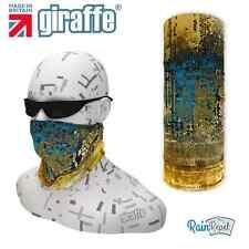 G546 oro astratto multifunzionale Headwear Bandana Fascia per Capelli da sci basso di lenza ciclo Run