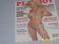 PLAYBOY  +++++ JULY 2003 NIKKI STERLING with Lisa Marie Presley Interview+++