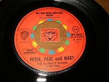 PETER PAUL AND MARY - I DIG ROCK AND ROLL MUSIC - ROLLING   / LISTEN - POP FOLK