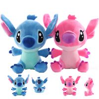 8'' Lilo and Stitch Plush Toy Soft Cute Touch Stuffed Doll Teddy Kids Toy Gift