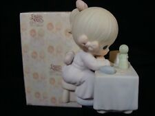 Precious Moments-Girl At Table Figurine-Charter Member