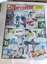 72-5 Ephemera 1981 Folded Advert Hubba Bubba The Gumfighter