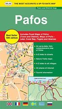 ROAD & TOURIST MAP OF PAFOS – 10th Revised Edition  - Best Seller!