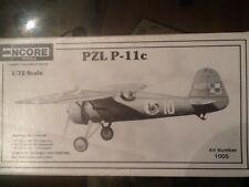 Encore ex. Heller PZL P-11c; 1/72 scale; 1998; OOP; No. 1005