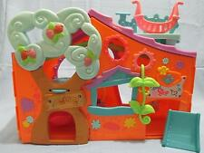 "LITTLEST PET SHOP Club Tree house Playset Orange 13"" Play Center w/ Accessories"