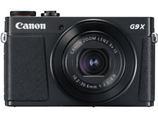 Cámara - Canon G9 X MARK II BK, F2-4.9, estabilizador de imagen, DIGIC 7, CMOS