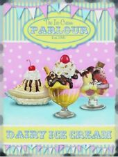 Ice Cream Parlour Sundaes Cafe Farm Food Shop Retro Diner Quality Fridge Magnet