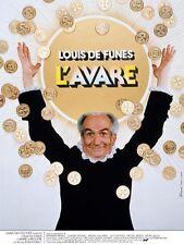 L'AVARE - Film Louis de Funès. Affiche 40x60
