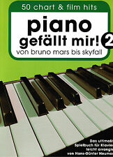 Klavier Noten  Piano gefällt mir 2 - 50 CHART und FILM HITS - SPIRALBINDUNG