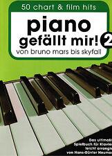 Klavier Noten  Piano gefällt mir 2 - 50 CHART und FILM HITS Bruno Mars - Skyfall