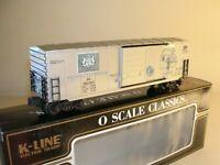 K-Line K765-7422, Pennsylvania Commemorative Quarter State Boxcar, C-9, NIB  /gn