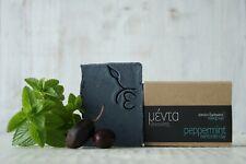 **Natural_Organic_Handmade**SOAP Greek olive oil_VEGAN_gmo free**PEPPERMINT**