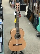 Alhambra 1OP Classical Guitar Solid Cedar Top Made In Spain Open Pore w/ GigBag