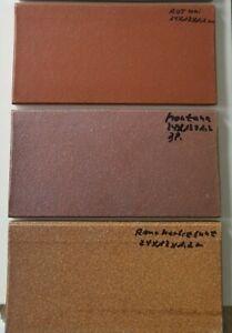 Werkstattfliesen, Spaltklinker rot, herbstbunt unglasiert 1,2cm, R11/B, Abr. 5