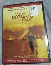 What Dreams May Come 1998 (Dvd, 2003) Brand New Sealed Max von Sydow
