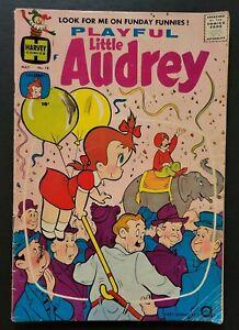 PLAYFUL LITTLE AUDREY #18 (Tiny Back-Up (May 1960, Harvey)GD/VG